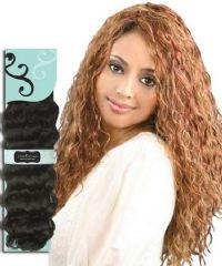 Bobbi Boss Indi Remi Human Hair French Wave Weaving 18in