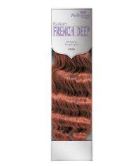 Hollywood Human Hair Italian French Deep Weaving (IFDW) 12in