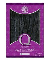 Zury Human Hair Blend Q Lace Closure 107