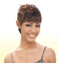 Milky Way Human Hair Short Cut SG27PCS