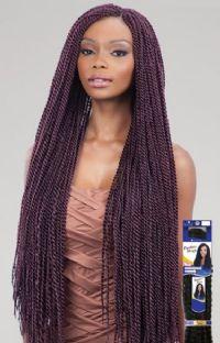 Freetress Synthetic Super Long Senegal Interlocking Crochet Braids