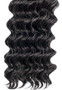 Alicia Beauty Foxy Silver Human Hair Deep Wave Weaving 10in