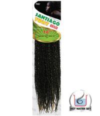 Amy Synthetic Jamaican Twist Interlocking Crochet Braids 18in