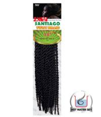 Amy Synthetic Jamaican Twist Interlocking Crochet Braids 18in 2X