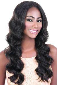 Motown Tress Brazilian Virgin Remy Human Hair Swiss Lace Front Wig HBR-LS.Lea 25in