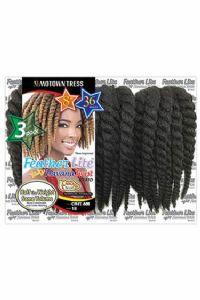 Motown Tress Synthetic Feather Havana Twist CHT.888M Interlocking Crochet Braids Multi Pack 8/8/8in