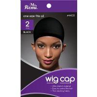 Annie Stocking Wig Cap Black 4400